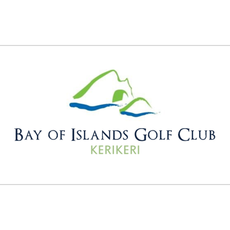 Logo of golf course named Bay of Islands Golf Club