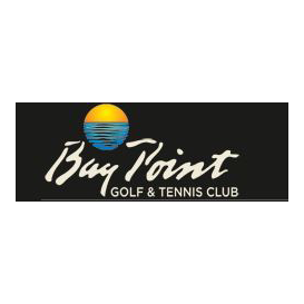 Logo of golf course named Bay Point Golf Resort and Spa