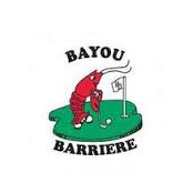 Logo of golf course named Bayou Barriere Golf Club
