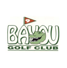 Logo of golf course named Bayou Golf Club