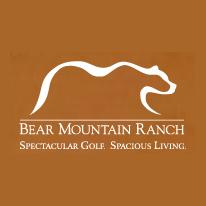 Logo of golf course named Bear Mountain Ranch