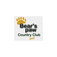 Logo of golf course named Bear's Paw Country Club