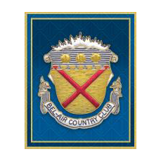 Logo of golf course named Bel-Air Country Club