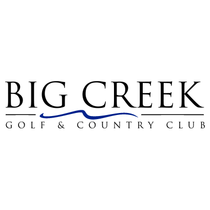 Logo of golf course named Big Creek Golf and Country Club