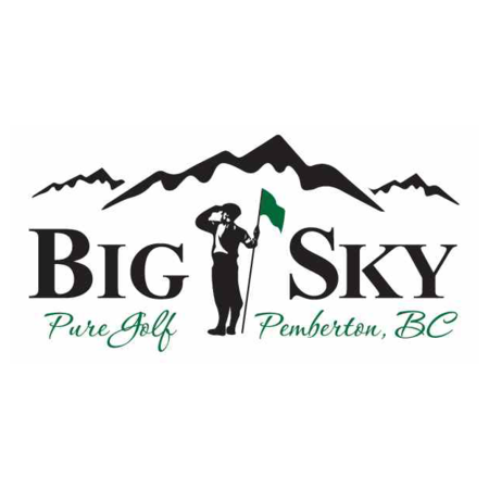 Logo of golf course named Big Sky Golf and Country Club
