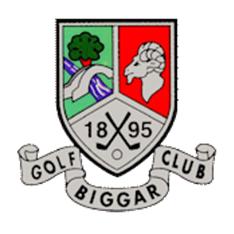 Logo of golf course named Biggar Golf Club