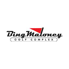 Logo of golf course named Bing Maloney Golf Course
