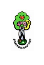 Logo of golf course named Birkemose Golf Club