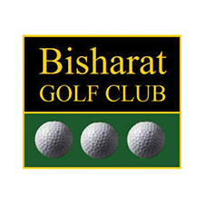 Logo of golf course named Bisharat Golf Club
