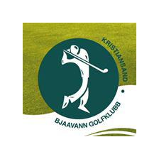 Logo of golf course named Bjaavann Golfklubb-Kristiansand