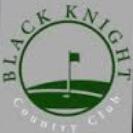 Logo of golf course named Black Knight Country Club