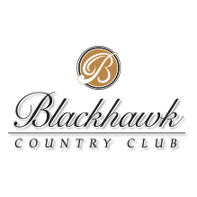 Logo of golf course named Blackhawk Country Club