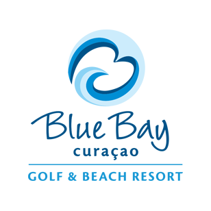 Logo of golf course named Blue Bay Golf