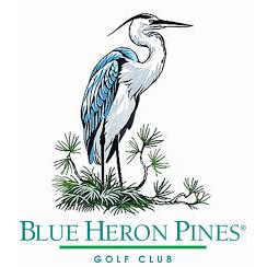 Logo of golf course named Blue Heron Pines