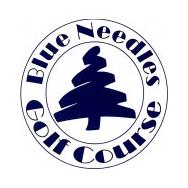 Logo of golf course named Blue Needle Golf Course