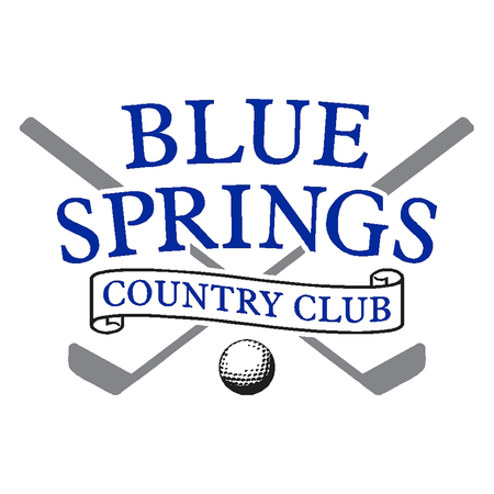 Logo of golf course named Blue Springs Country Club