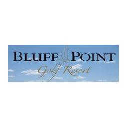 Logo of golf course named Bluff Point Golf Resort
