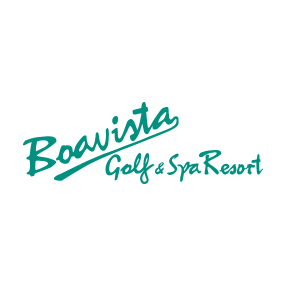 Logo of golf course named Boavista Golf and Spa Resort