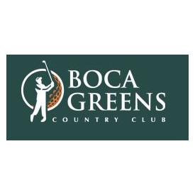 Logo of golf course named Boca Greens Country Club