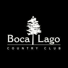 Logo of golf course named Boca Lago Country Club