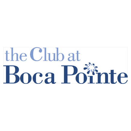 Logo of golf course named Boca Pointe Country Club