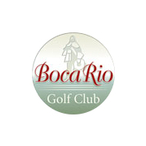 Logo of golf course named Boca Rio Golf Club
