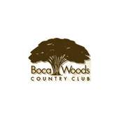Logo of golf course named Boca Woods Country Club