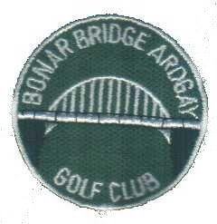 Logo of golf course named Bonar Bridge,ardgay Golf Club