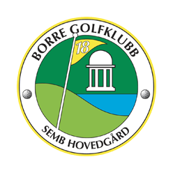 Logo of golf course named Borre Golfklubb