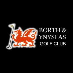 Logo of golf course named Borth and Ynyslas Golf Club