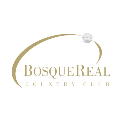 Logo of golf course named Bosque Real Country Club