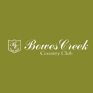 Logo of golf course named Bowes Creek Country Club