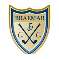 Logo of golf course named Braemar Country Club