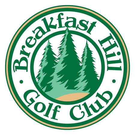 Logo of golf course named Breakfast Hill Golf Club