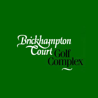 Logo of golf course named Brickhampton Court Golf Complex