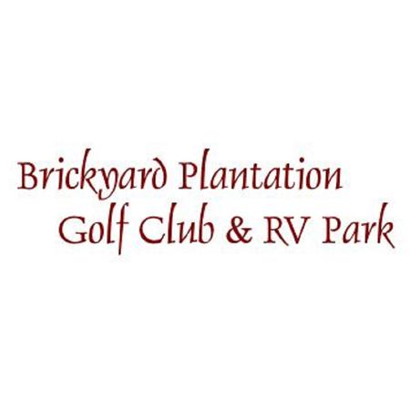 Logo of golf course named Brickyard Plantation Golf Club