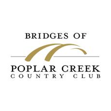 Logo of golf course named Bridges of Poplar Creek Country Club