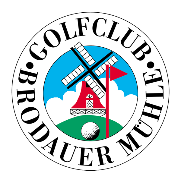 Logo of golf course named Brodauer Mühle Golf Club