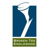 Logo of golf course named Broken Tee Englewood
