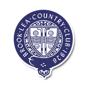 Logo of golf course named Brook-Lea Country Club