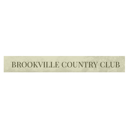 Logo of golf course named Brookville Country Club
