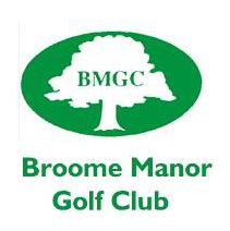 Logo of golf course named Broome Manor Golf Club