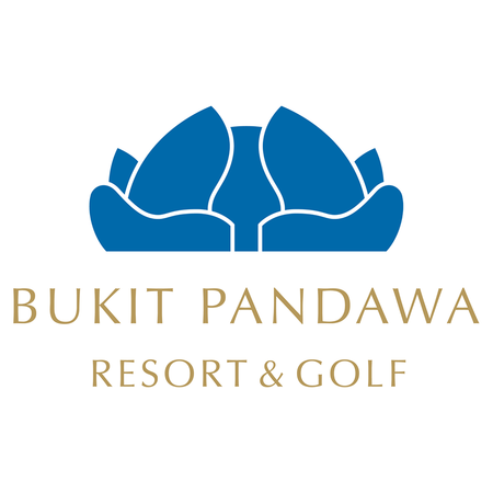 Logo of golf course named Bukit Pandawa Golf and Country Club