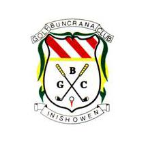 Logo of golf course named Buncrana Golf Club