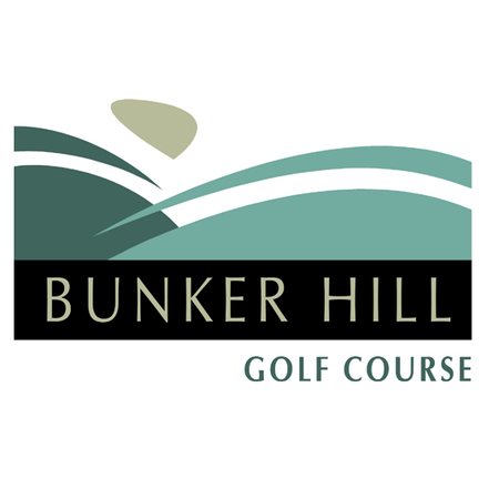 Logo of golf course named Bunker Hill Golf Course