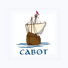 Logo of golf course named Cabot Cliffs