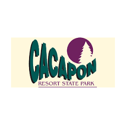 Logo of golf course named Cacapon Resort State Park