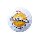 Logo of golf course named California Golf and Art Country Club