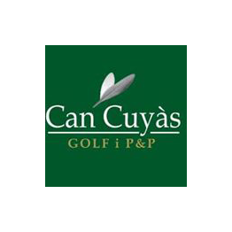 Logo of golf course named Can Cuyas Golf