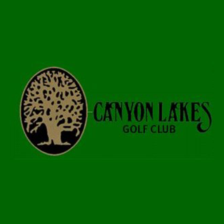 Logo of golf course named Canyon Lakes Country Club